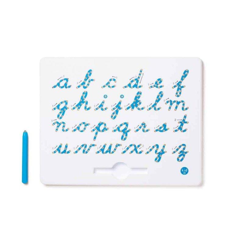 Магнитная доска для изучения английских маленьких прописных букв от А до Z, KID O