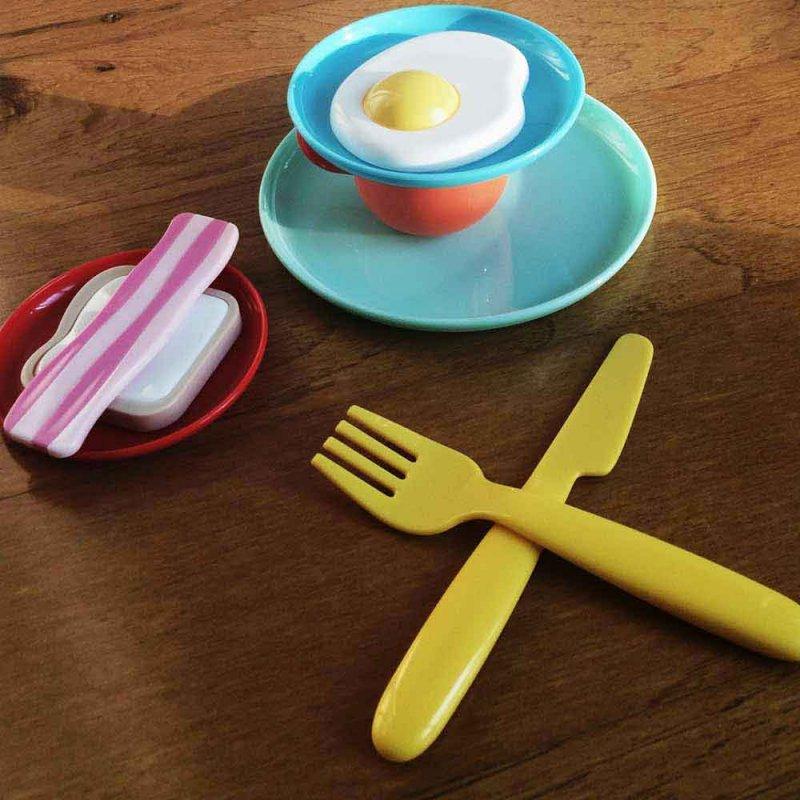 """Игровой набор посуды """"Завтрак"""", KID O"""