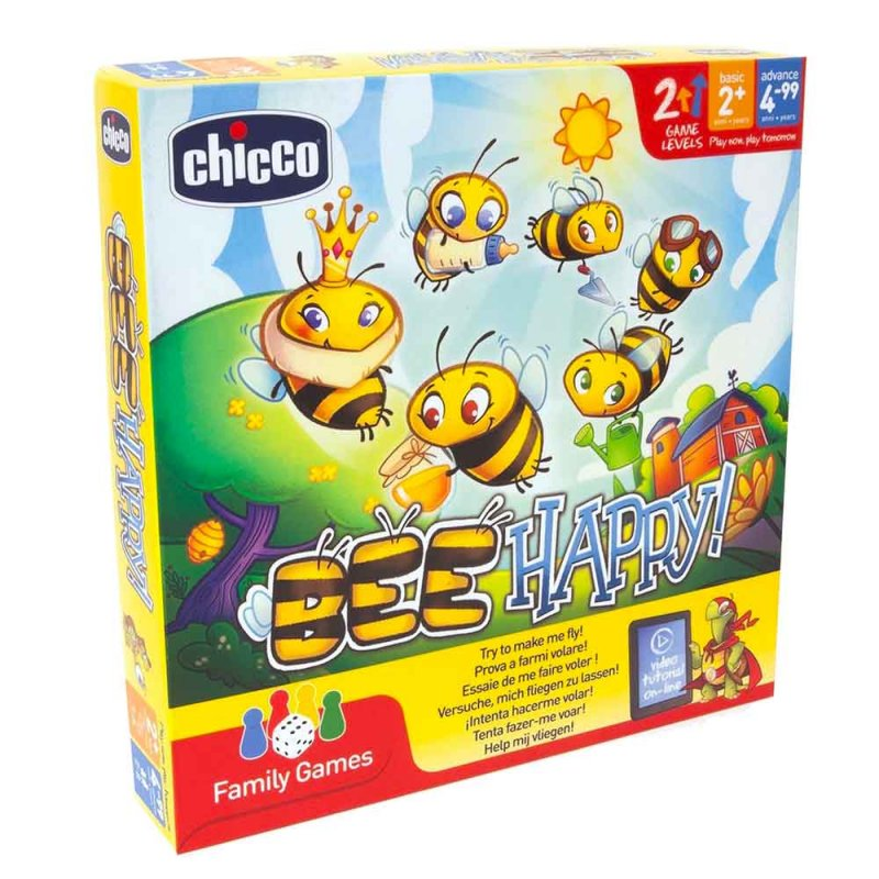 """Настольная игра """"Bee Happy"""", Chicco"""