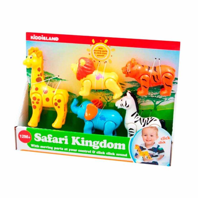 """Развивающий игровой набор """"Дикие животные"""", Kiddieland"""