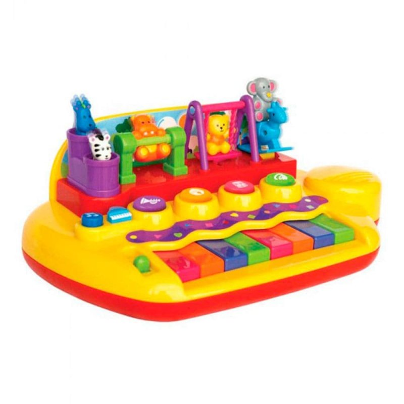 "Музыкальная игрушка ""Зверята на качелях"", Kiddieland"