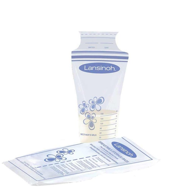 Пакеты для хранения грудного молока, Lansinoh