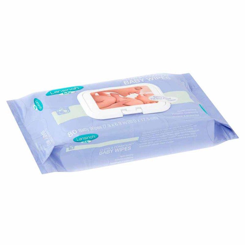 Влажные салфетки для малышей, Lansinoh