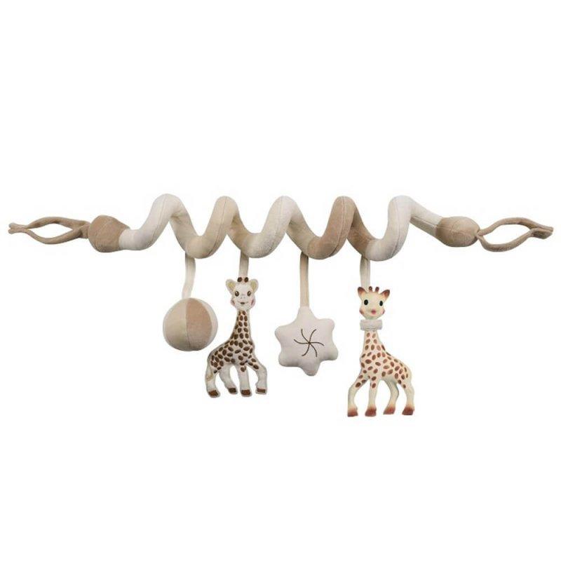 Подвеска на детскую кроватку с игрушками, Sophie la girafe (Vulli)