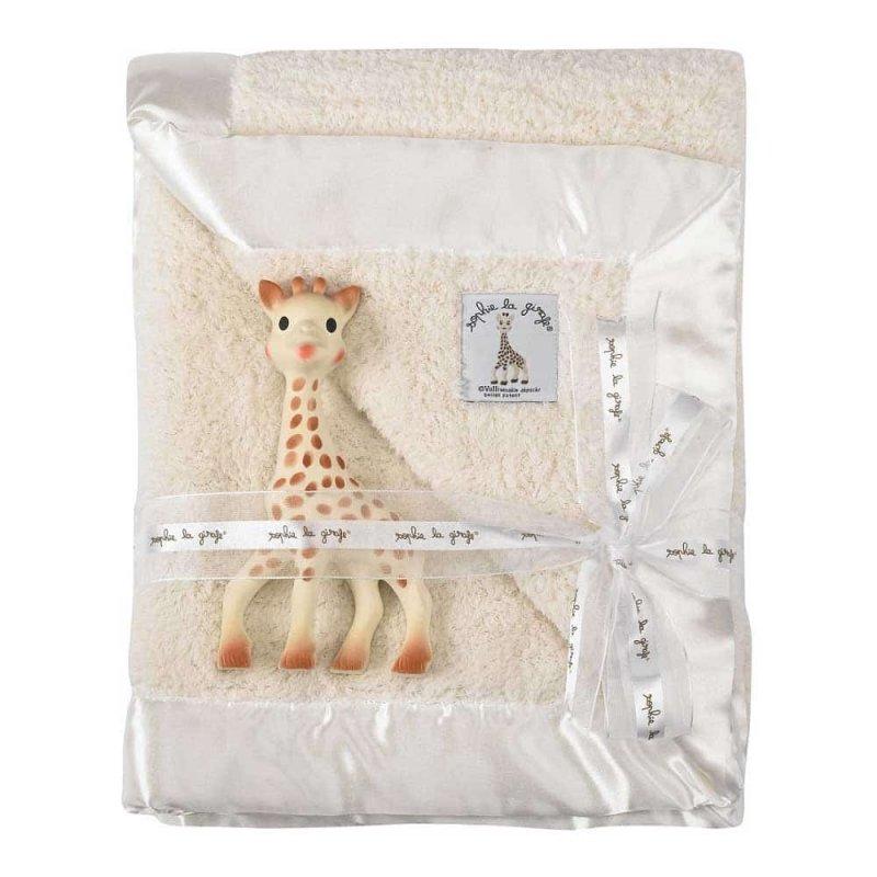 Подарочный набор (Жирафа Софи и одеяльце), Sophie la girafe (Vulli)