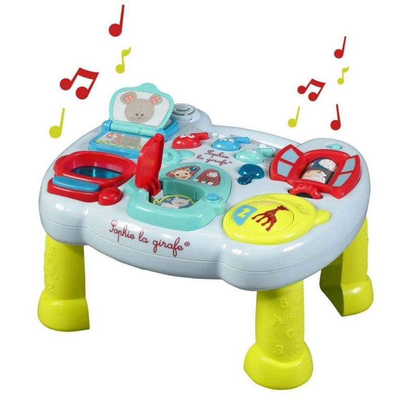 Интерактивная развивающая панель-стол, Sophie la girafe (Vulli)