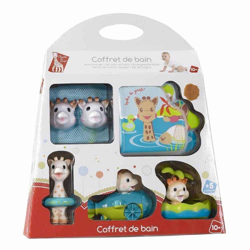 Набор игрушек для купания Жирафа Софи, Sophie la girafe (Vulli)