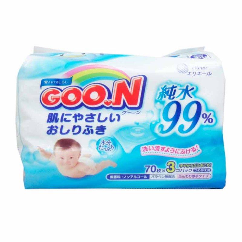 Влажные салфетки для чувствительной кожи, Goo.N