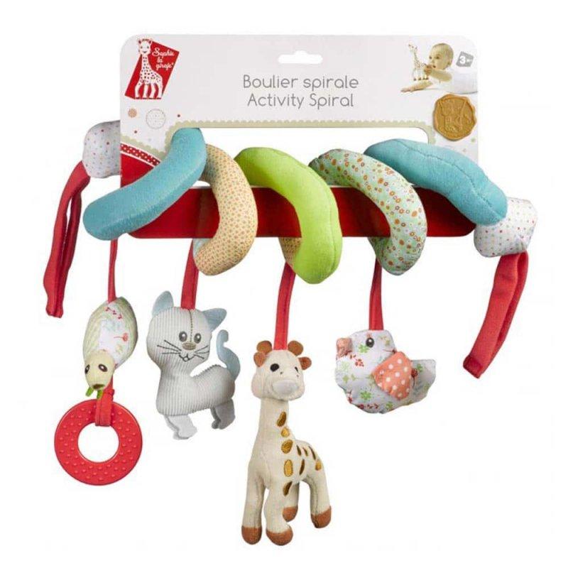Подвеска с игрушками Жирафа Софи, Sophie la girafe (Vulli)