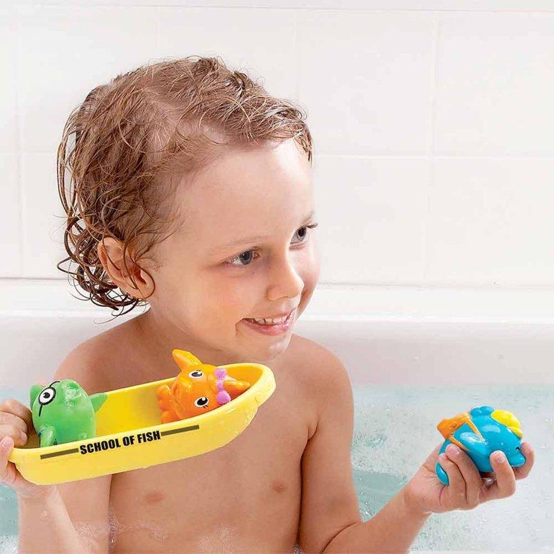 """Игрушка для ванной """"Школа рыболовов"""", Munchkin"""