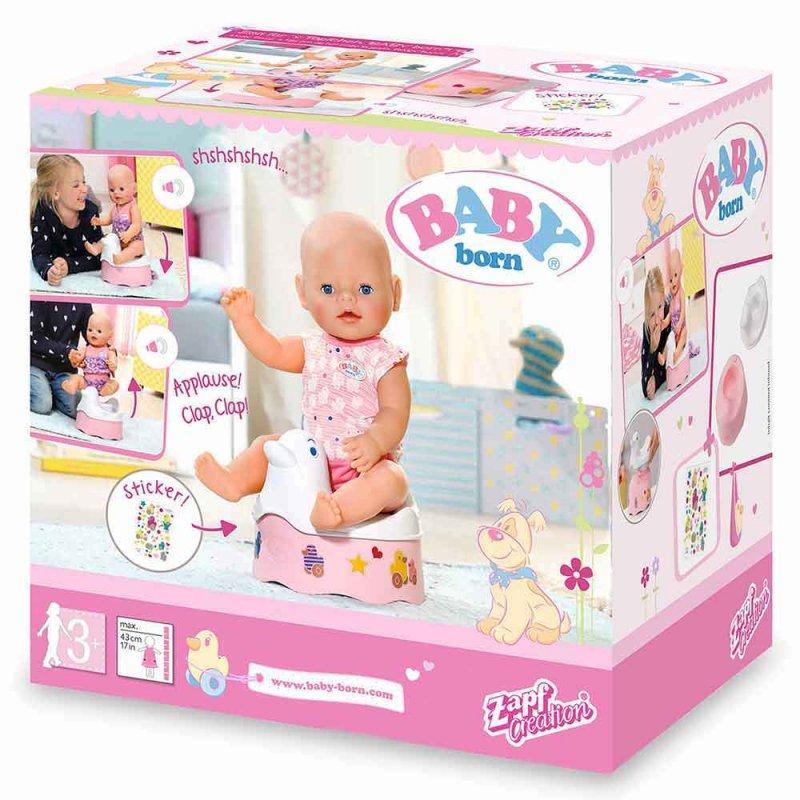 """Интерактивный горшочек для куклы BABY BORN """"УТОЧКА"""", Zapf"""