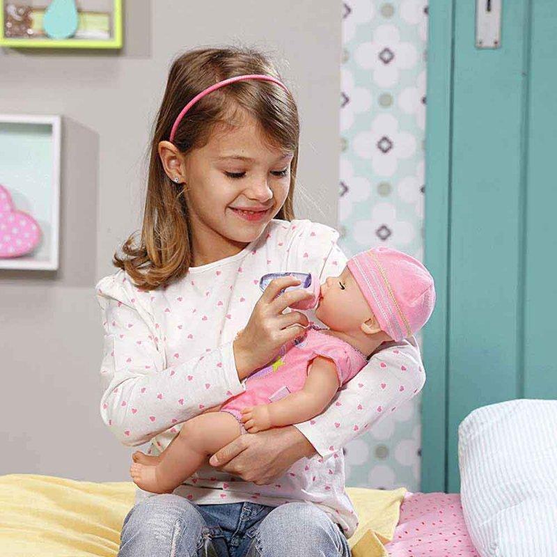 "Бутылочка для куклы BABY BORN ""УДОБНОЕ КОРМЛЕНИЕ"", Zapf"