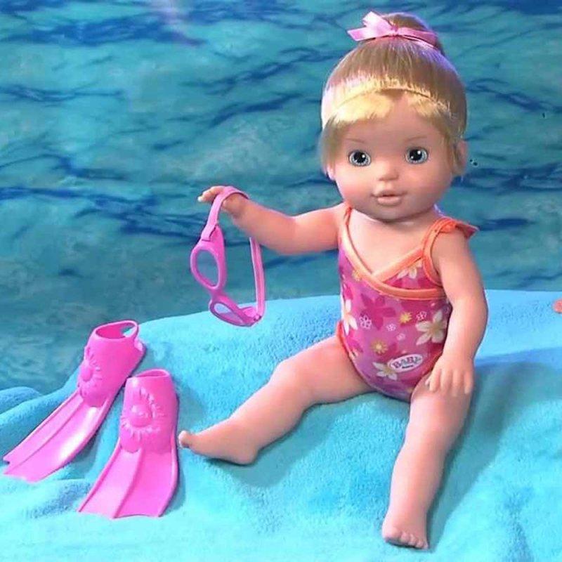 "Интерактивная кукла MY LITTLE BABY BORN ""УЧИМСЯ ПЛАВАТЬ"", Zapf"