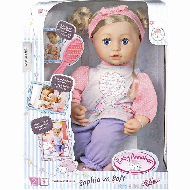 """Кукла BABY ANNABELL """"МИЛАЯ СОФИЯ"""", Zapf"""