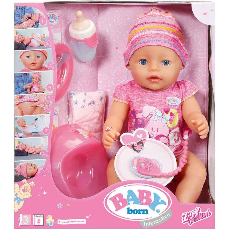 "Кукла BABY BORN ""ОЧАРОВАТЕЛЬНАЯ МАЛЫШКА"", Zapf"