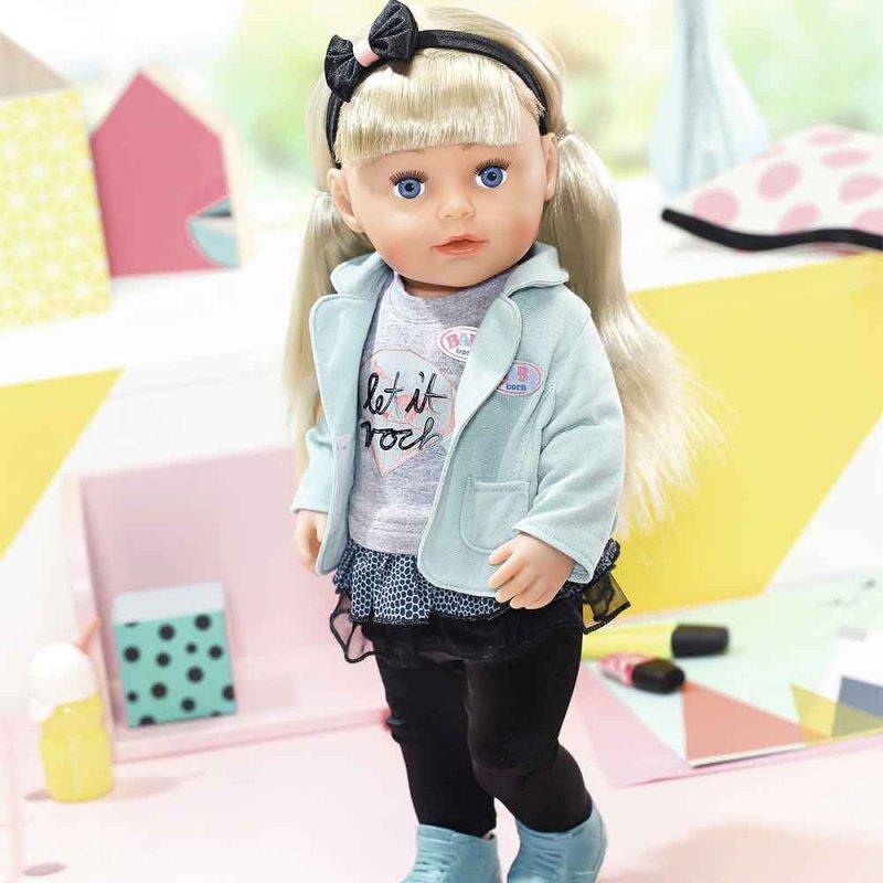 """Кукла BABY BORN """"СЕСТРЁНКА-МОДНИЦА"""", Zapf"""