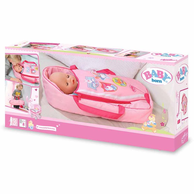 "Люлька-переноска для куклы BABY BORN ""СЛАДКИЕ СНЫ"", Zapf"