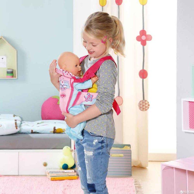 Рюкзак-кенгуру для куклы BABY BORN, Zapf