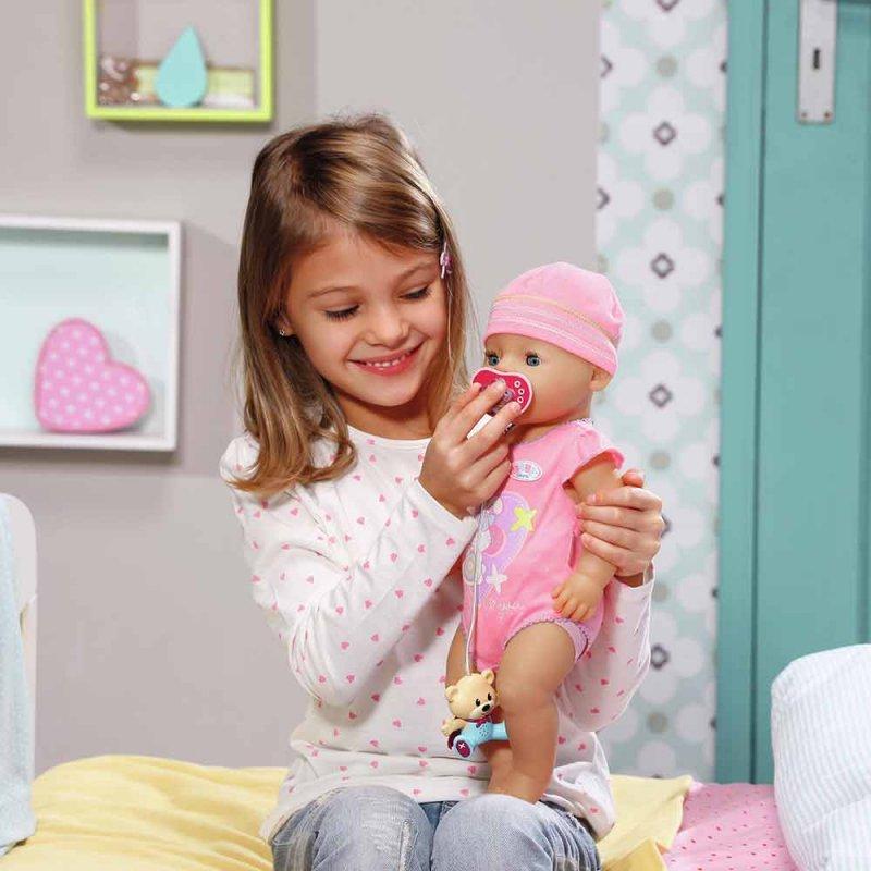 """Интерактивная пустышка для куклы BABY BORN """"НЕ БУДЕМ ПЛАКАТЬ"""", Zapf"""