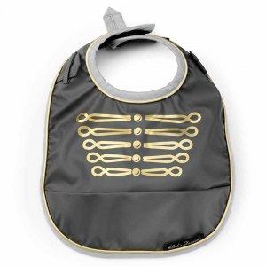 """Слюнявчик непромокаемый с карманом """"Golden Grey"""", Elodie Details"""