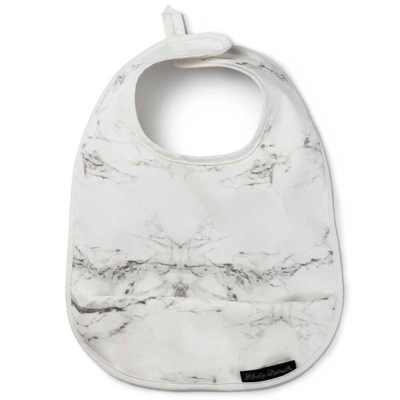 "Слюнявчик непромокаемый с карманом ""Marble"", Elodie Details"