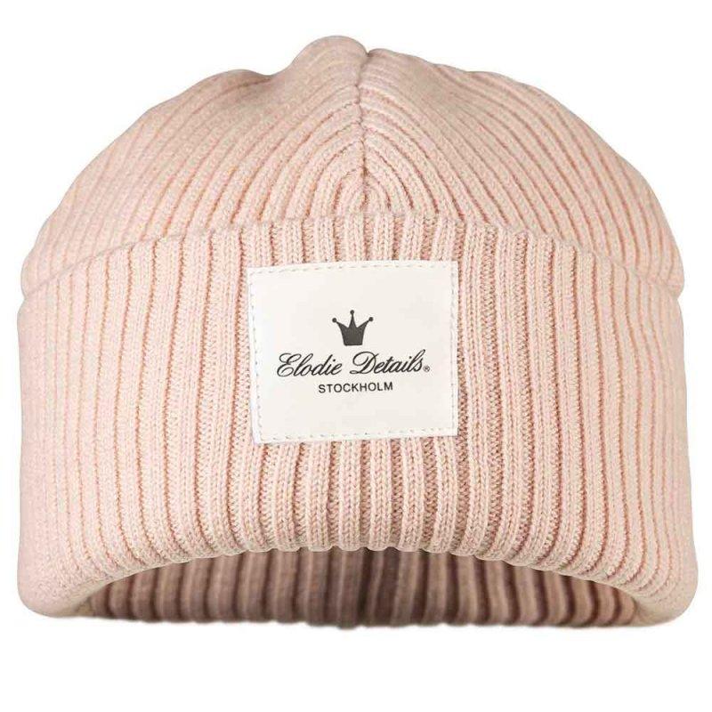 """Шерстяная шапка """"Powder Pink"""", Elodie Details"""
