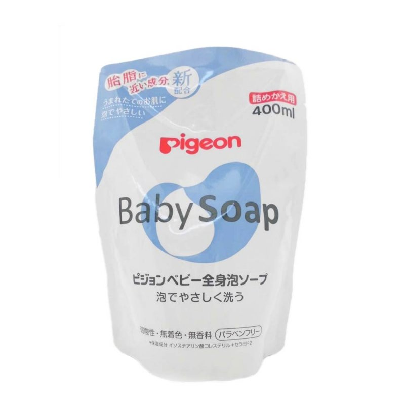 Мыло-пенка для младенцев, Pigeon
