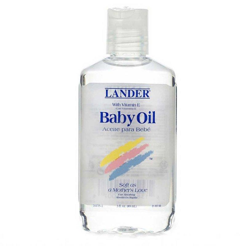 Детское масло с витамином Е, Lander