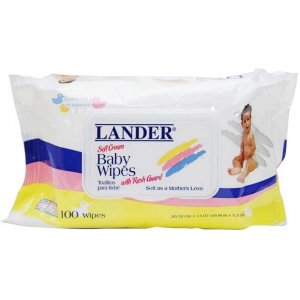 Детские влажные салфетки, Lander