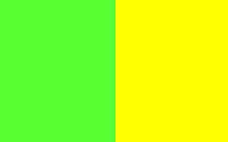 Зеленый с желтым